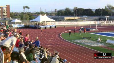 Girl's 4x400m Relay Invite, Heat 1