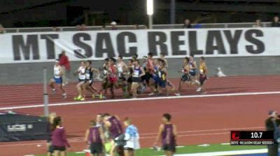 Boy's 4x1600m Relay Seeded, Heat 2