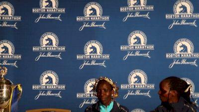 Two-time world champion Edna Kiplagat wins Boston debut