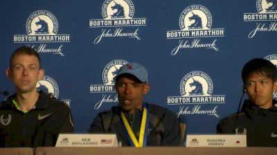 Meb Keflezighi on Boston legacy, seeing Bill Richard at finish line