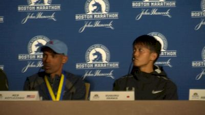 Suguru Osako isn't giving up track for the marathon