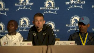 Galen Rupp on foot pain, praying during race