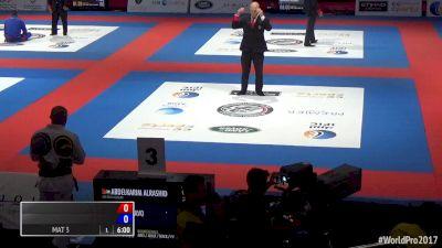 Abdelkarim Alrashid vs Tiago Bravo 2017 World Pro