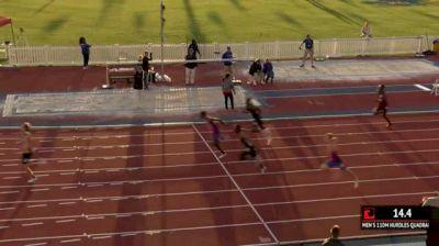 Men's 110m Hurdles Invite, Heat 1