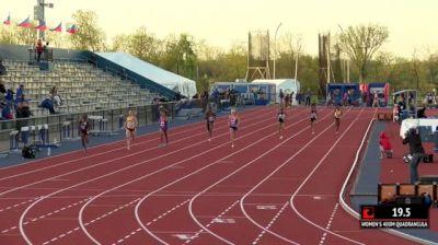 Women's 400m Invite, Heat 1
