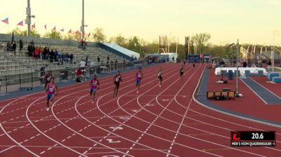 Men's 400m Invite, Heat 1