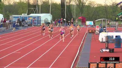 Women's 800m Invite, Heat 1
