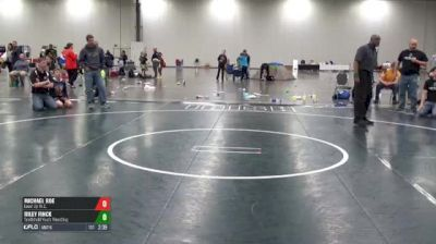 S-92 5th Place - Michael Roe, Level Up W.C. vs Riley Finck, Smithfield Youth Wrestling