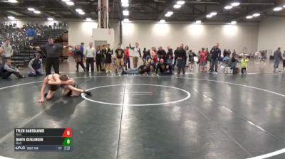 C-100 5th Place - Tyler Bartolomei, Unatt. vs Dante Geislinger, Unatt.