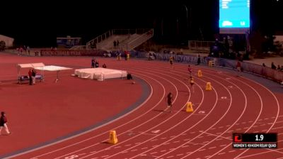 Women's 4x400m Relay Invite, Heat 1