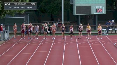 Men's 1500m, Heat 3