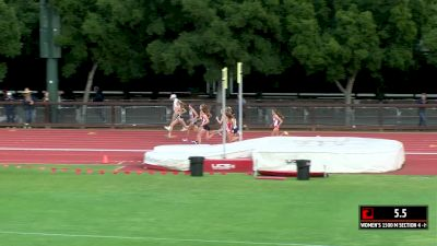 Women's 1500m, Heat 4