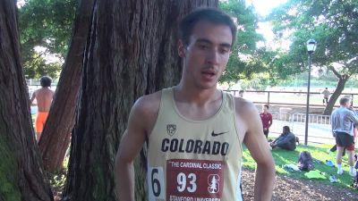 Colorado's Ben Saarel changed up his training after indoors
