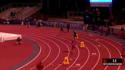 Men's 4x400m Relay Invite, Heat 1