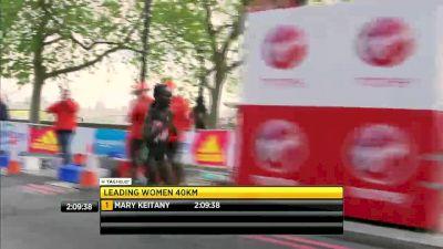 2017 London Marathon Women's Finish - Keitany breaks women-only World Record! (Available in Canada)