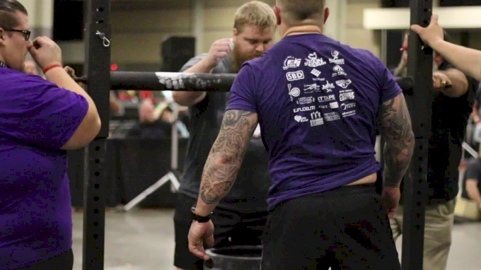 Watch Wesley Claborn's 520lb Keg World Record