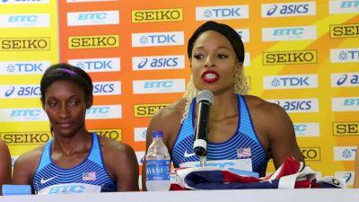 Team USA women's captain Natasha Hastings on 4x4 win