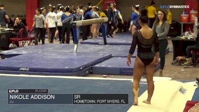 Nikole Addison - Floor, DU - Denver Winterfest Classic (NCAA)