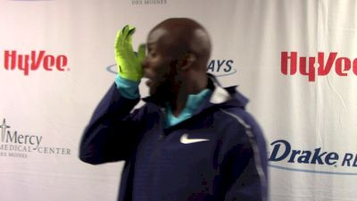 LaShawn Merritt stays controlled, gets the win at Drake Relays