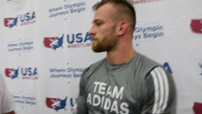 David Taylor Is Finally Adjusted To The Weight Class
