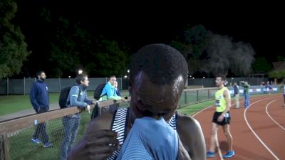 Shadrack Kipchirchir happy with a new PR, all about his teammates at ADP