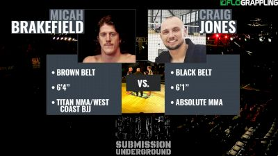 Craig Jones vs Micah Brakefield Submission Underground 4