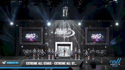 Extreme All Stars - Extreme All Stars Black Ice [2021 L3 Junior - Small - A Day 2] 2021 The U.S. Finals: Louisville