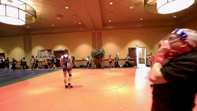 145 kg Rr Rnd 2 - Owen Hicks, New York vs Coy Raines, New York