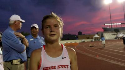 Allie O is 2-for-2 in steeple