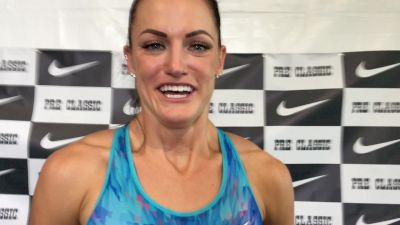 Georganne Moline wants to channel her nerves into race energy