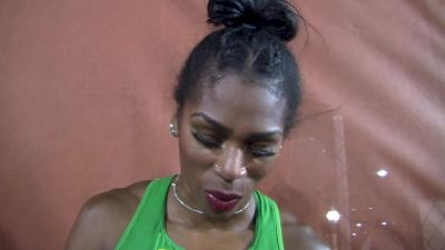 Raevyn Rogers wants to write her own story in the 800m