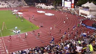 Women's 4x400m Relay, Heat 2 - Raevyn Rogers splits 50.20!
