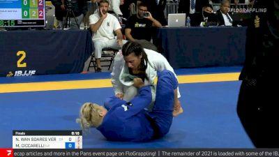 Nathalie Ribeiro vs Margot Ciccarelli , Lightweight Final, 2021 IBJJF Pan Championship