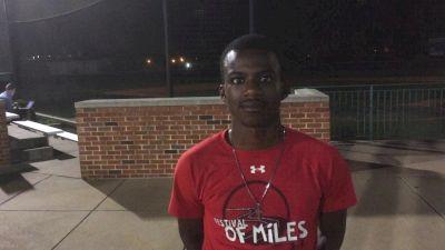 Meet 15-year-old 1:50 man Brandon Miller