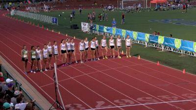 Big River Running High School Girl's Mile Championship