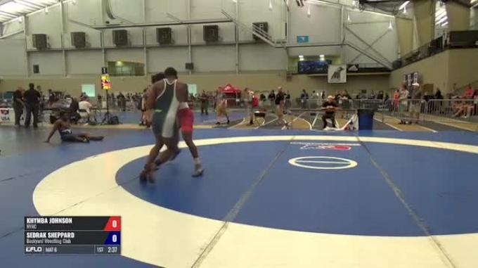 98 Round of 16 - Khymba Johnson, NYAC vs Sedrak Sheppard