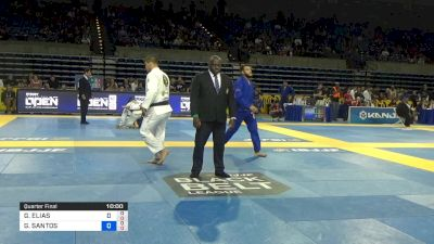 GUSTAVO ELIAS vs GUILHERME SANTOS 2019 Pan Jiu-Jitsu IBJJF Championship