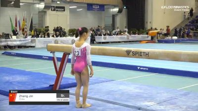 Zhang Jin - Beam, China - 2019 City of Jesolo Trophy