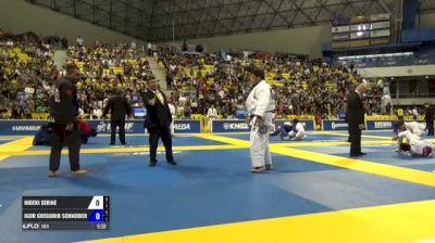 Hideki Sekine vs Igor Gregorio Schneider IBJJF 2017 World Championships