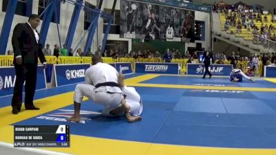 Diogo Sampaio vs Romulo De Souza IBJJF 2017 World Championships