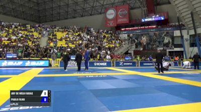 Ary De Melo Farias vs Paulo Filho IBJJF 2017 World Championships