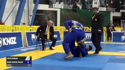 Lucas Barbosa vs Diogo Sampaio Araujo IBJJF 2017 World Championships