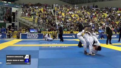 Gregor De Carvalho Rangel Gracie vs Marcos Yoshio De Souza IBJJF 2017 World Championships