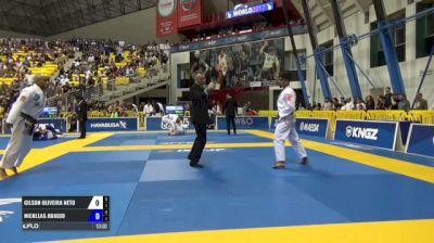 Gilson Oliveira Neto vs Nicollas Araujo IBJJF 2017 World Championships