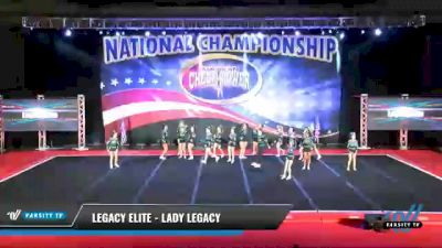 Legacy Elite - Lady Legacy [2021 L4 Senior Coed - D2 Day 2] 2021 ACP: Midwest World Bid National Championship
