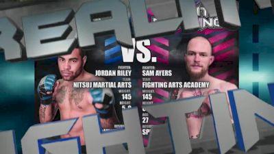 Reality Fighting: Jordan Riley vs. Sam Ayers