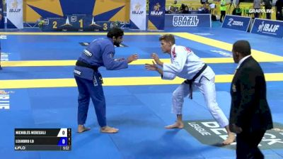 Nicholas Meregali vs Leandro Lo IBJJF 2017 World Championships