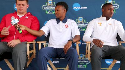 Mike Holloway is sick of talking about NCAAs always being in Eugene