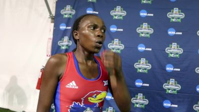 Sharon Lokedi very happy with third in the 10K