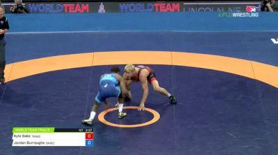 74 Round 2 - Kyle Dake, TMWC vs Jordan Burroughs, Sunkist Kids